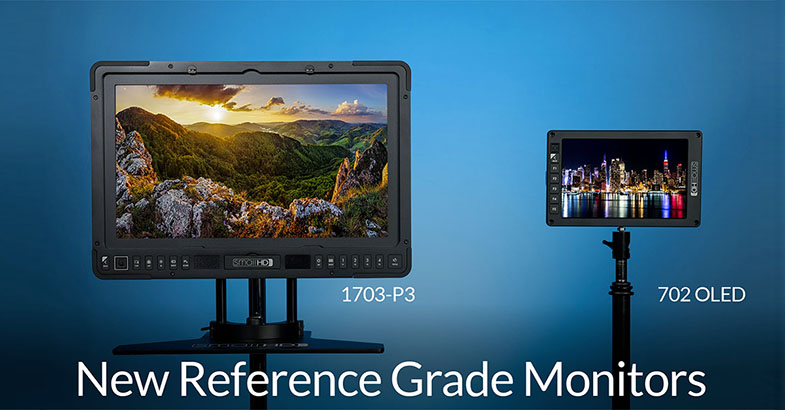 Nové monitory SmallHD 1703-P3 702 OLED