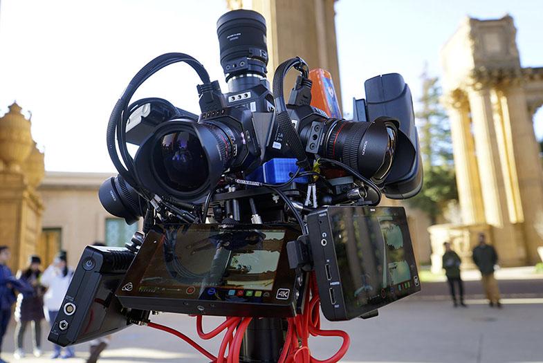 Blackmagic Micro Cinema Camera VR 360 Designs