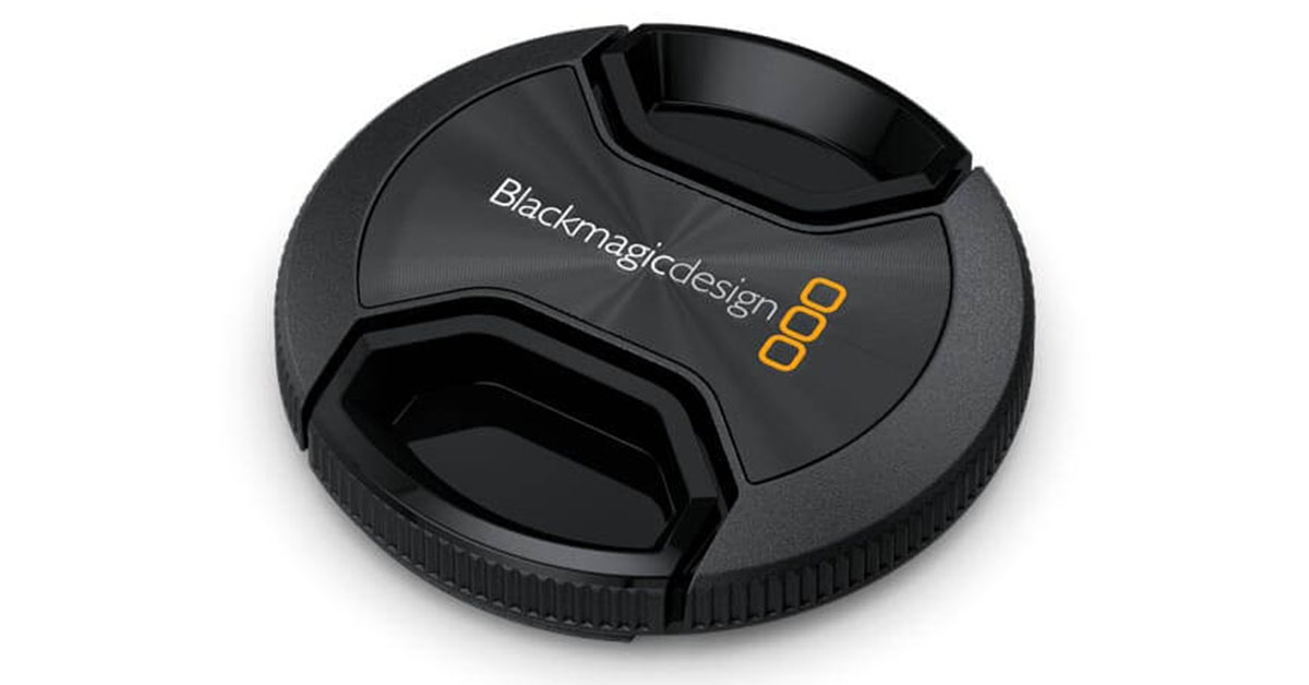 Blackmagic Design 58mm Lens Cap