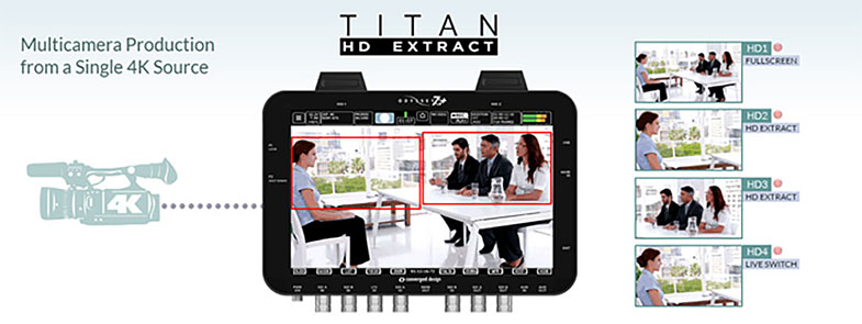 Convergent Design Titan HD Extract