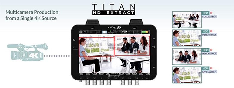 Convergent Design Titan HD Extract