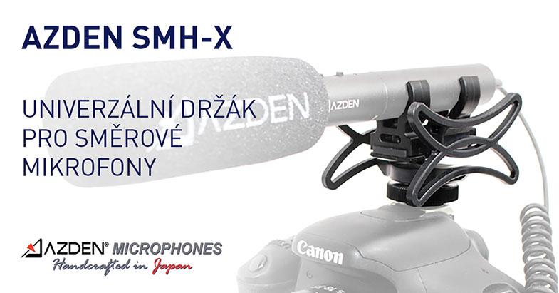 Univerzální mikrofonní držák Azden SMH-X