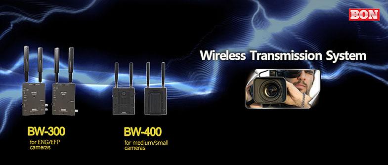BON BW-300 BW-400 Wireless Transmission System