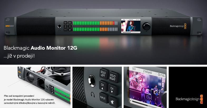 Blackmagic Audio Monitor 12G