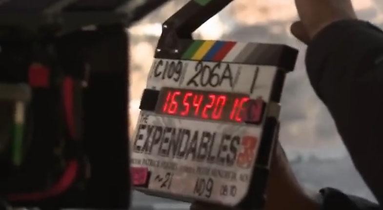 Blackmagic Cinema Camera Expendables 3