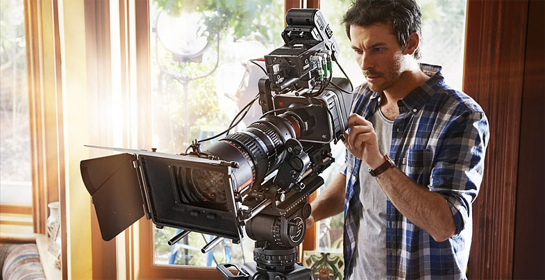 Blackmagic Cine Production Camera 4K