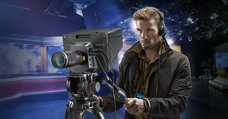 Blackmagic Studio Camera 4K 2017 New Model