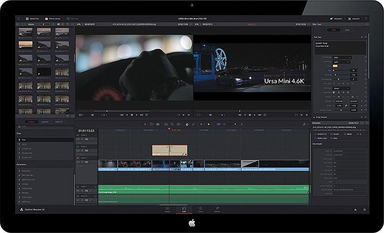 Blackmagic Design DaVinci Resolve 12.5
