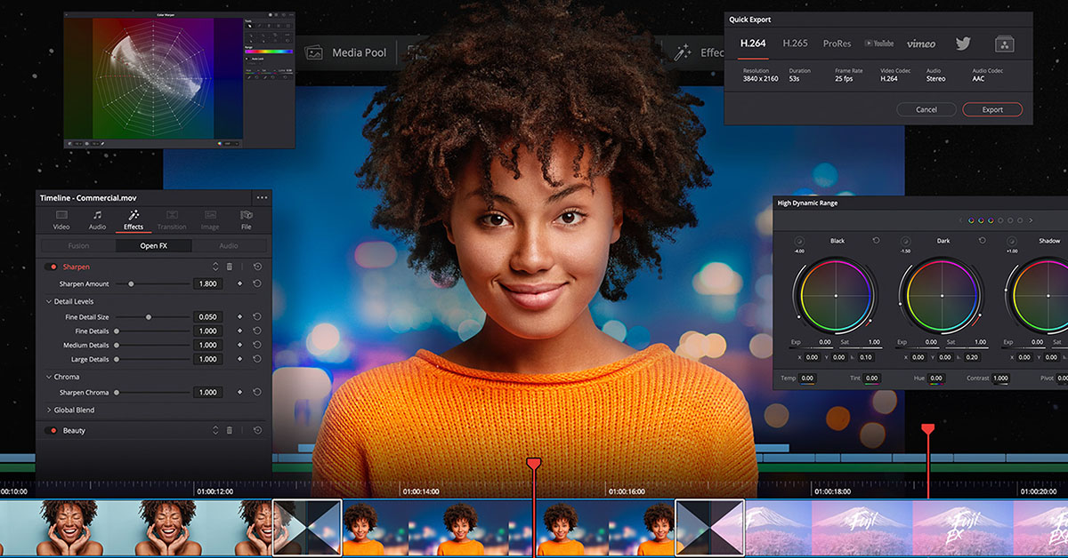 DaVinci Resolve Studio 17 Public Beta 3