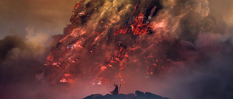 Relic Dawn of War III animace Fusion Studio Blackmagic Design Syntex