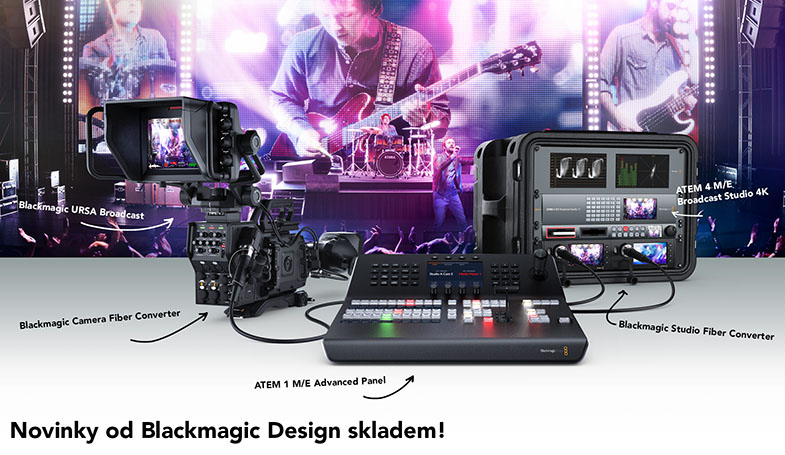 Blackmagic Design Broadcast Products Q1 2018