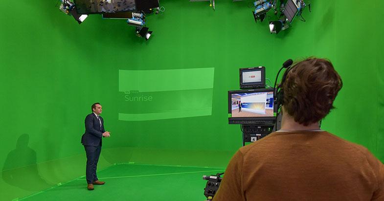 Blackmagic Design Ultimatte 12 Sky News UK