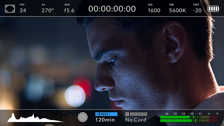 Blackmagic URSA Mini GUI