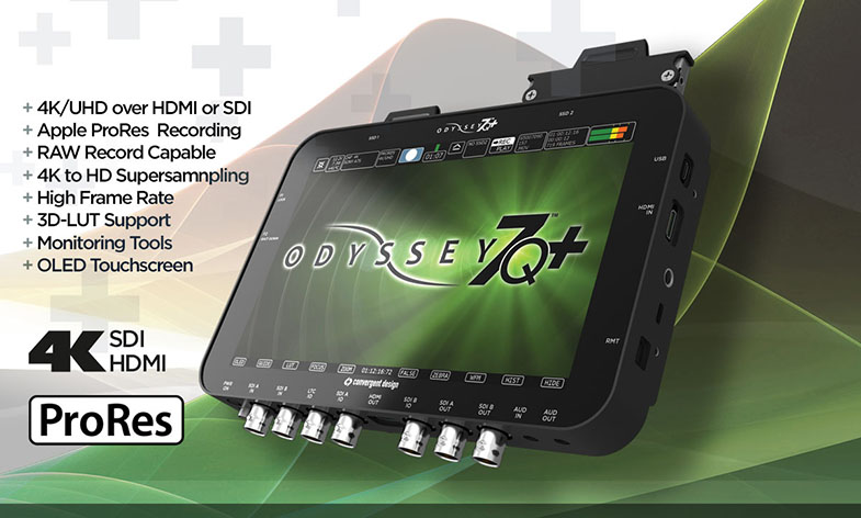 Convergent Design Odyssey7Q+ Raw Bundle