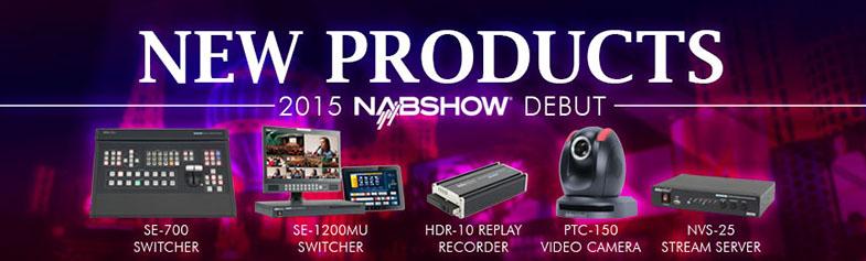 Datavideo NAB 2015