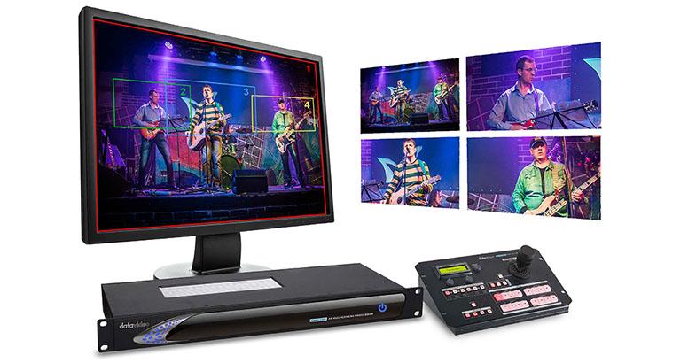 Datavideo KMU-100 + RMC-185