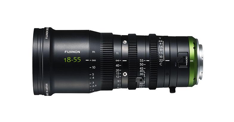 Fujinon MK Series FUJINON MK18‐55mm T2.9 E-mount