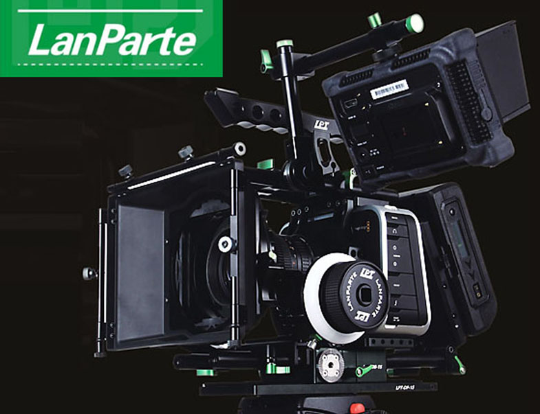 LanParte BMCC-03 Blackmagic Camera Production Camera 4K Full Rig