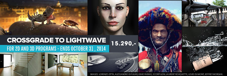 LightWave 11.6 Crossgrade Promo 10/2014