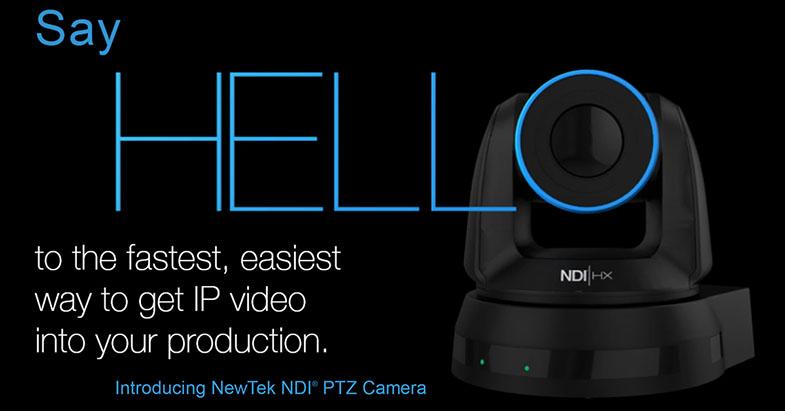 NewTek NDI PTZ Camera
