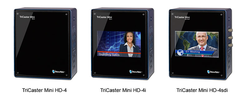 NewTek TriCaster Mini HD-4sdi