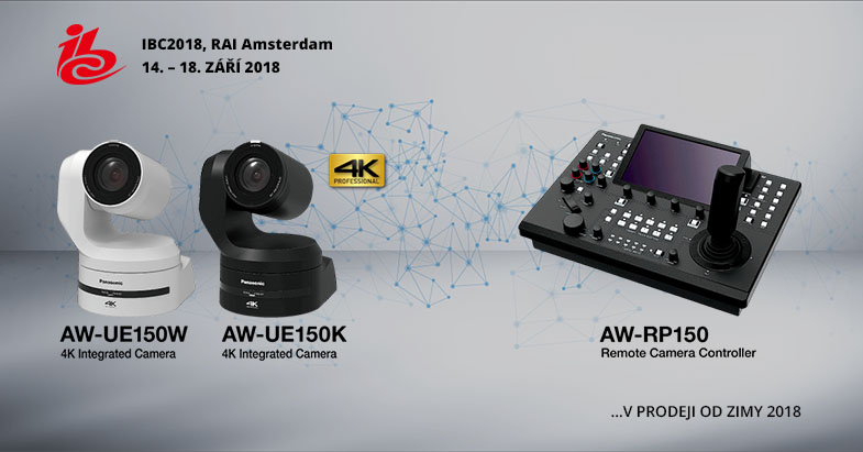 Panasonic AE-UE150 IBC promo
