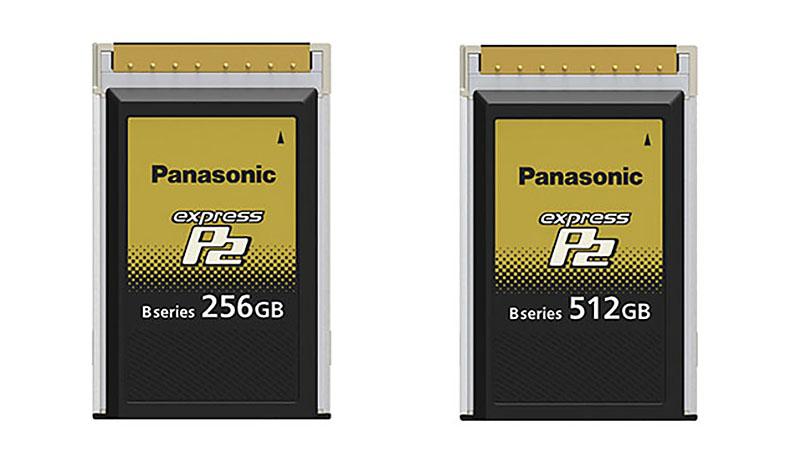 Panasonic ExpressP2 Card B Series