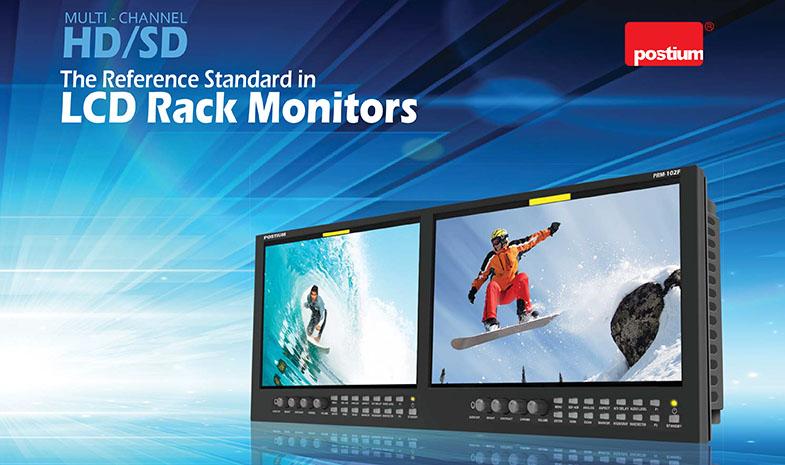Postium Rack Monitors