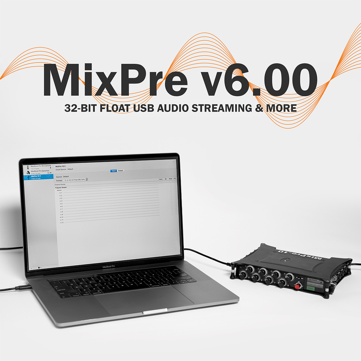 MixPre 6.00 Sound Devices