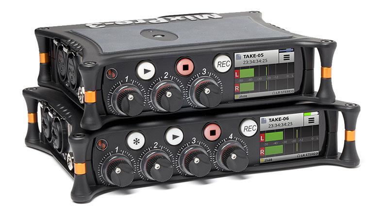 Sound Devices MixPre-3 MixPre-6