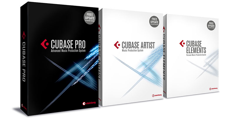 Steinberg Cubase Pro 9 Artist Elements DAW