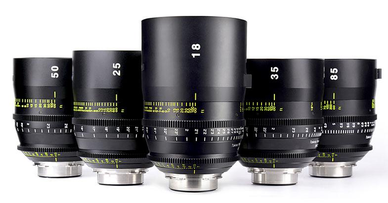 Tokina Cinema Prime Lenses