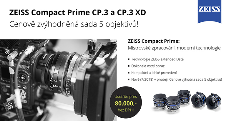 ZEISS Compact Prime CP.3/CP.3 XD –  5 Lens Set