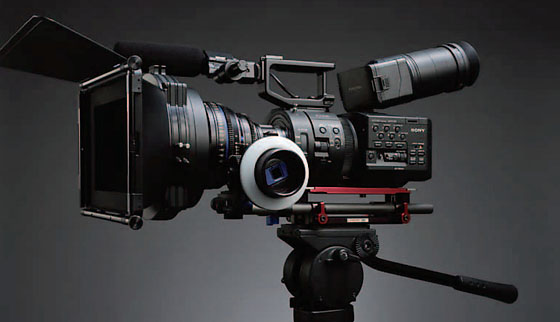 Sony NEX-FS700 CineAlta