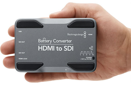 Blackmagic Design Battery Converter