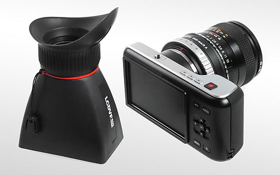 Kinotehnik LCDVF BM for Blackmagic Pocket Cinema Camera