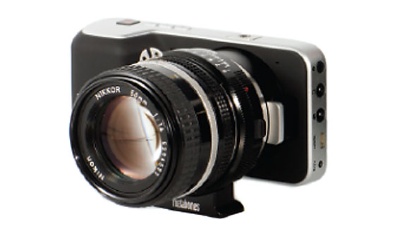 Metabones Speed Booster Blackmagic Pocket Cinema Camera BMPCC
