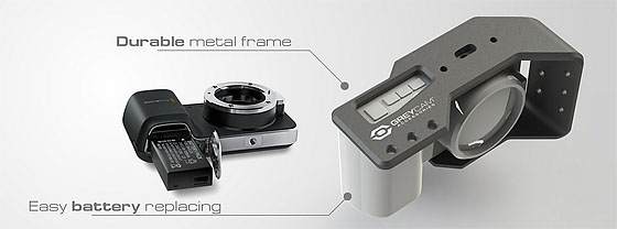 GreyCam Blackmagic Pocket Cinema Camera Protective Frame
