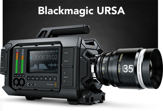 Blackmagic URSA Camera