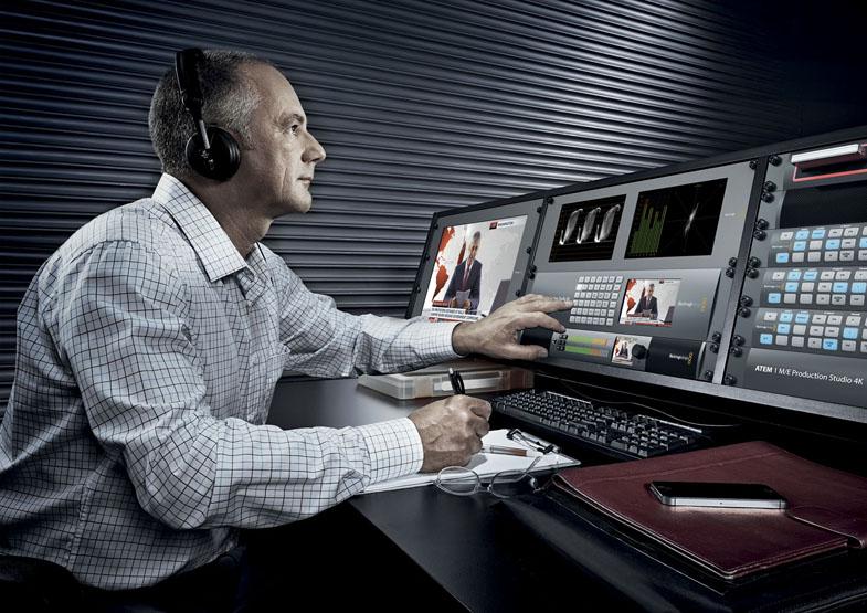 ATEM 2/ME Production Studio 4K