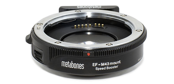 Metabones EF to M43 Speed Booster