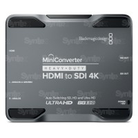 Mini Converter Heavy Duty HDMI to SDI 4K
