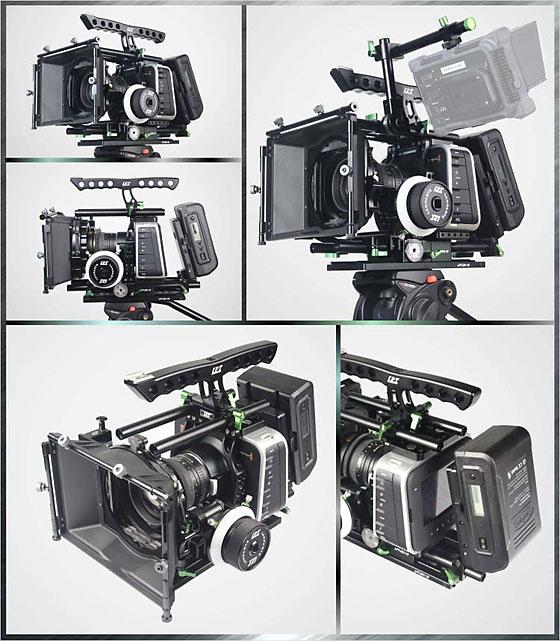 LanParte BMCC-03 Blackmagic Cinema Camera / Blackmagic Production Camera 4K Rig