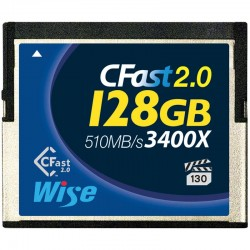 128GB CFast 2.0 Blue 3400X