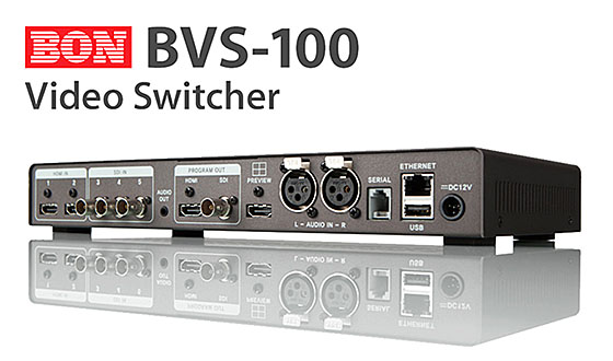BON BVS-100 HD Video Switcher
