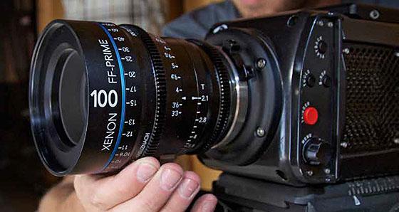 Schneider-Kreuznach Xenon FF Prime Lenses