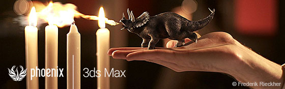 Phoenix FD 3.0 pro 3ds Max