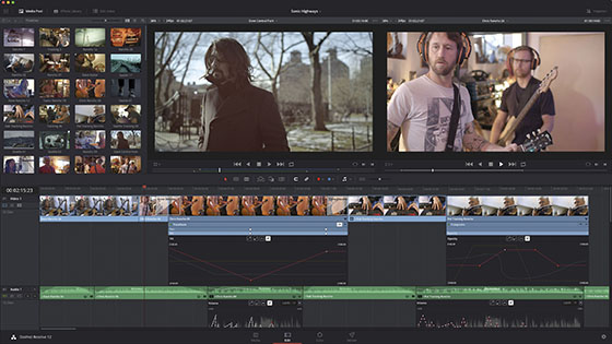 Blackmagic DaVinci Resolve 12