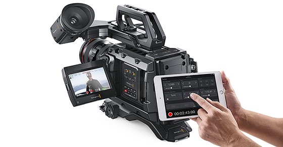 Blackmagic Design Blackmagic Camera 4.4 URSA Mini Pro Bluetooth iPad