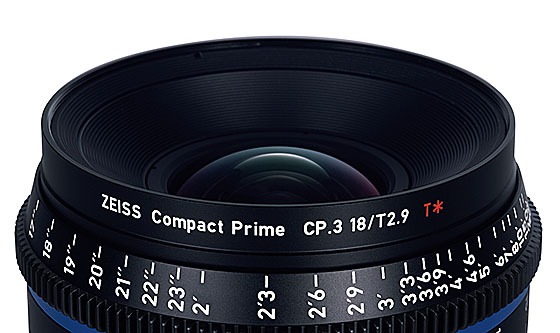 Zeiss Compact Prime CP.3 XD eXtended Data